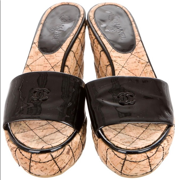 CHANEL Shoes   Quilted Patent Leather